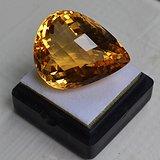 黄水晶 40.35克拉纯天然无加热巴西黄水晶 旺财石