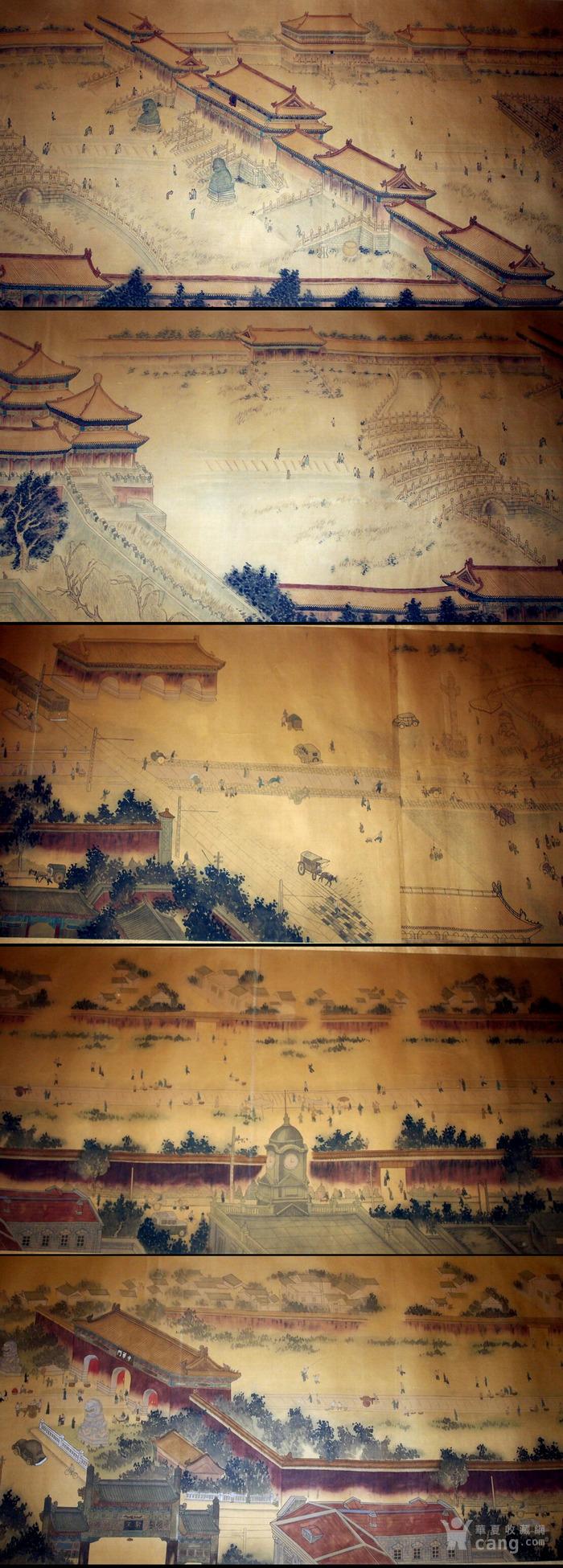 超巨幅长卷 《北平全景图》堂皇巨制!图7