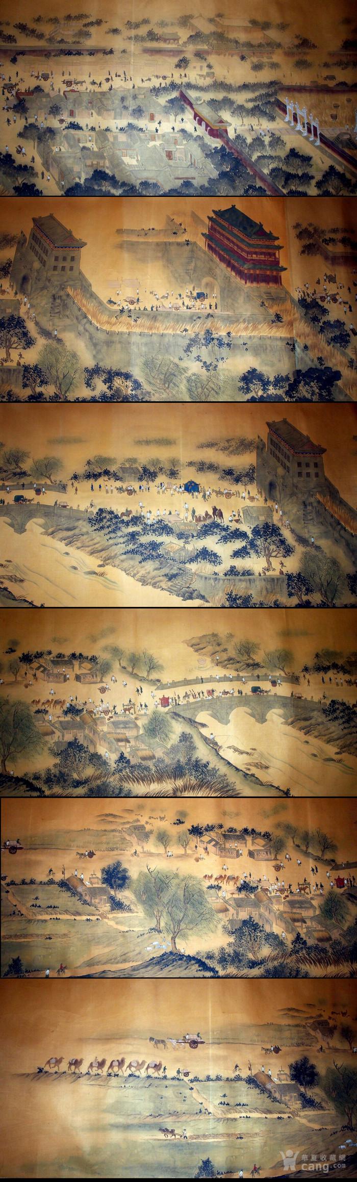 超巨幅长卷 《北平全景图》堂皇巨制!图12