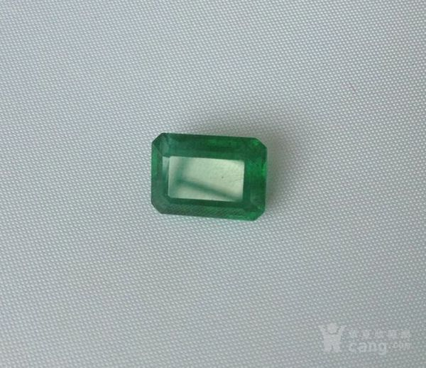 祖母绿宝石戒面 收藏级天然哥伦比亚祖母绿5.64克拉图5