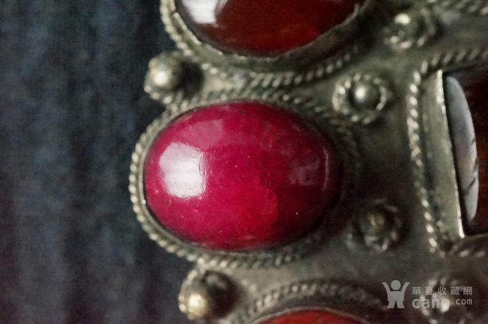 欧洲古董多宝镶嵌大胸针图8