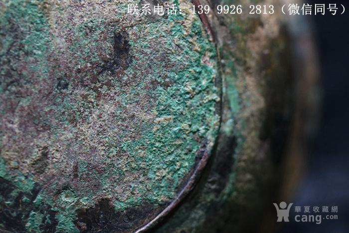 铜器鎏金刻花铜盏图10