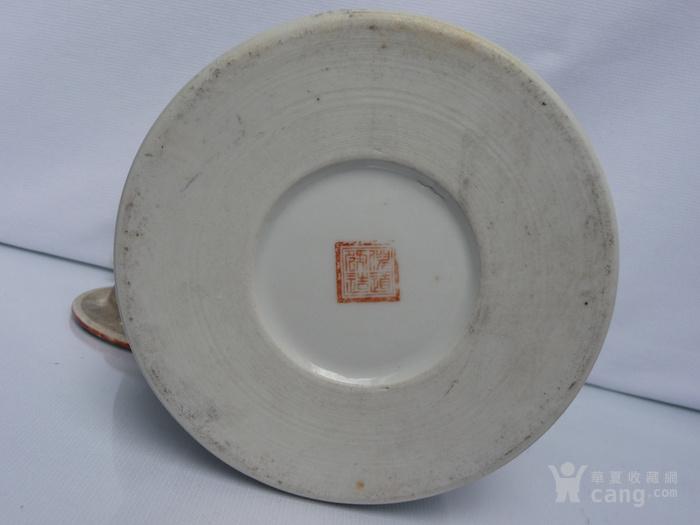 晚清民国名家制作粉彩瓷茶壶图10