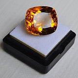 黄水晶 17.52克拉纯天然无加热巴西黄水晶 旺财石
