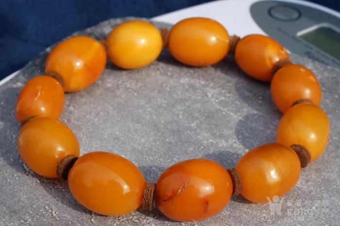 德国回流天然波罗的海老红蜜蜡圆珠手串 高贵典雅图7