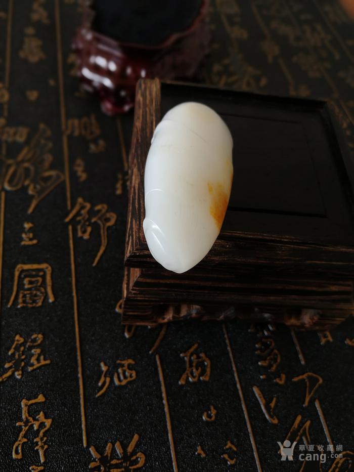 新品包邮新疆和田玉羊脂白籽料竹节挂件苏州工艺节节高升图8