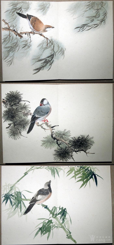 天津名家 郑连群 《花鸟册》图5
