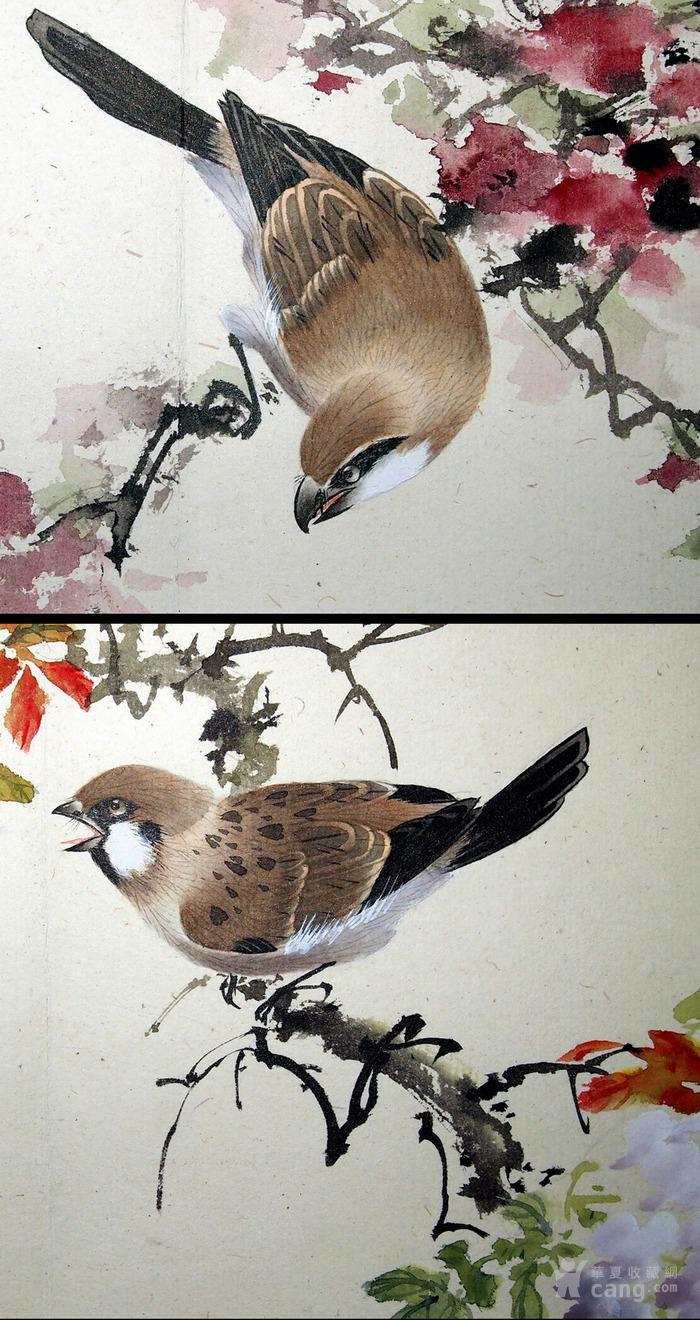 天津名家 郑连群 《花鸟册》图8