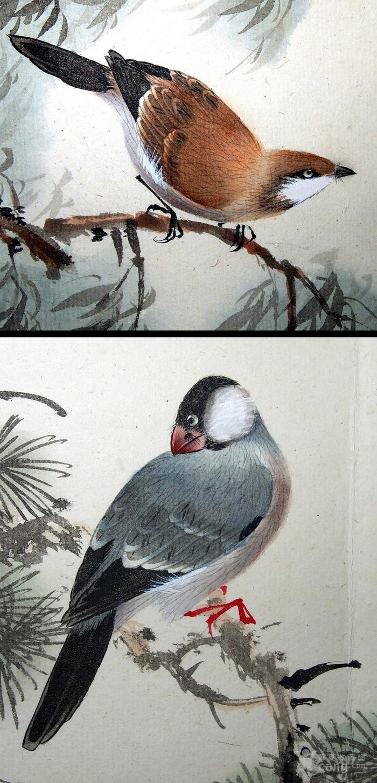天津名家 郑连群 《花鸟册》图9