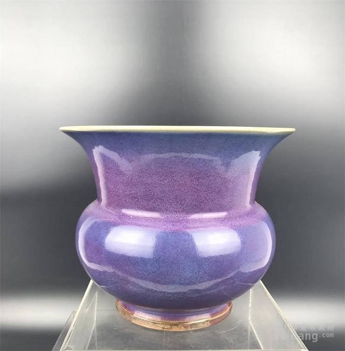钧窑花盆图1