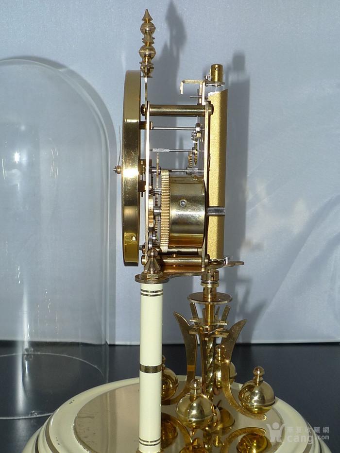 1960年代西德产Kieninger肯宁家400天座钟 年钟图5