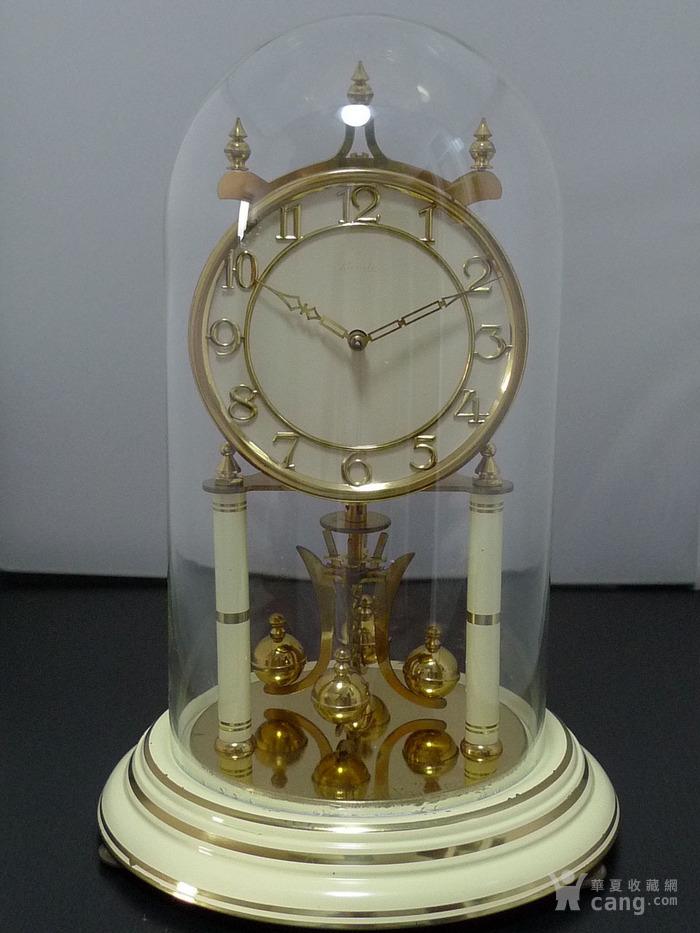 1960年代西德产Kieninger肯宁家400天座钟 年钟图1