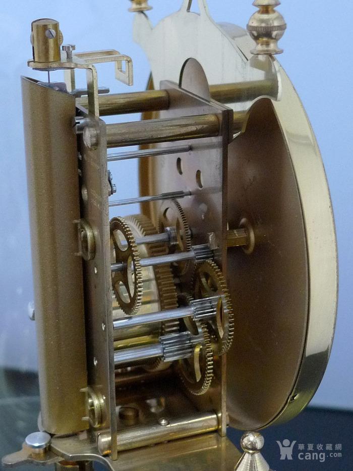 1960年代西德产Kieninger肯宁家400天座钟 年钟图6