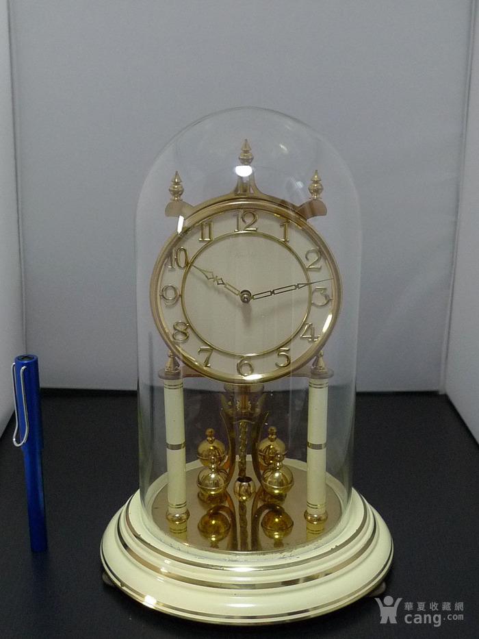 1960年代西德产Kieninger肯宁家400天座钟 年钟图9