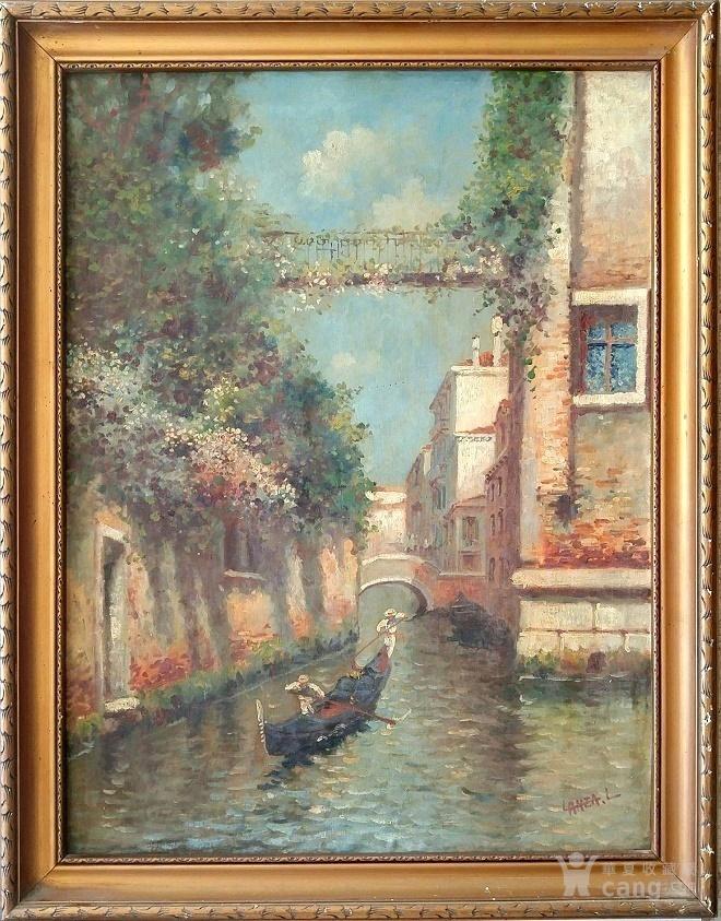 百年意大利风景油画  包老  包退图1