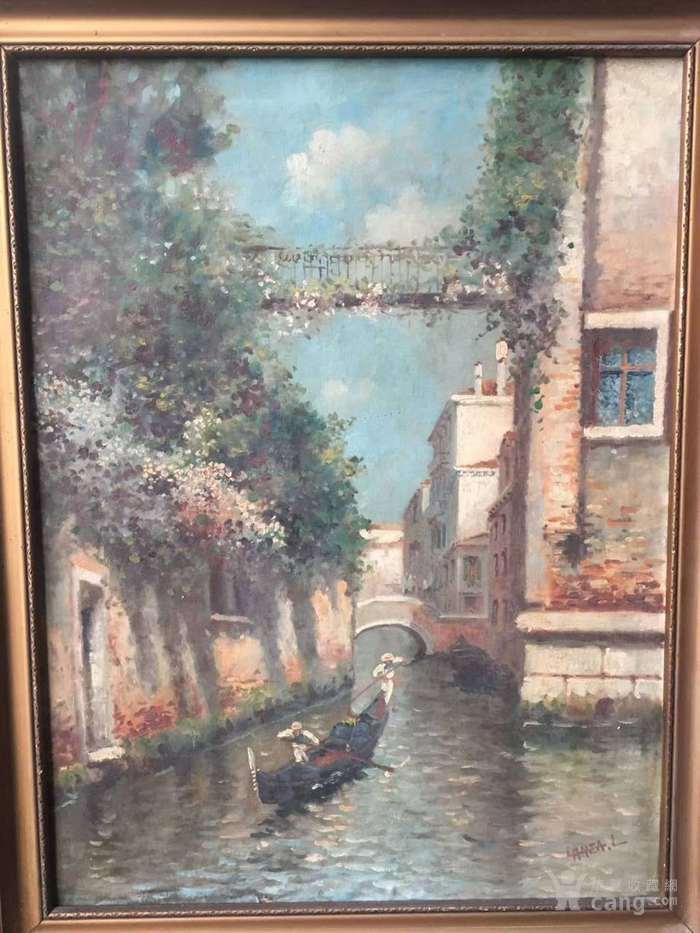 百年意大利风景油画  包老  包退图2