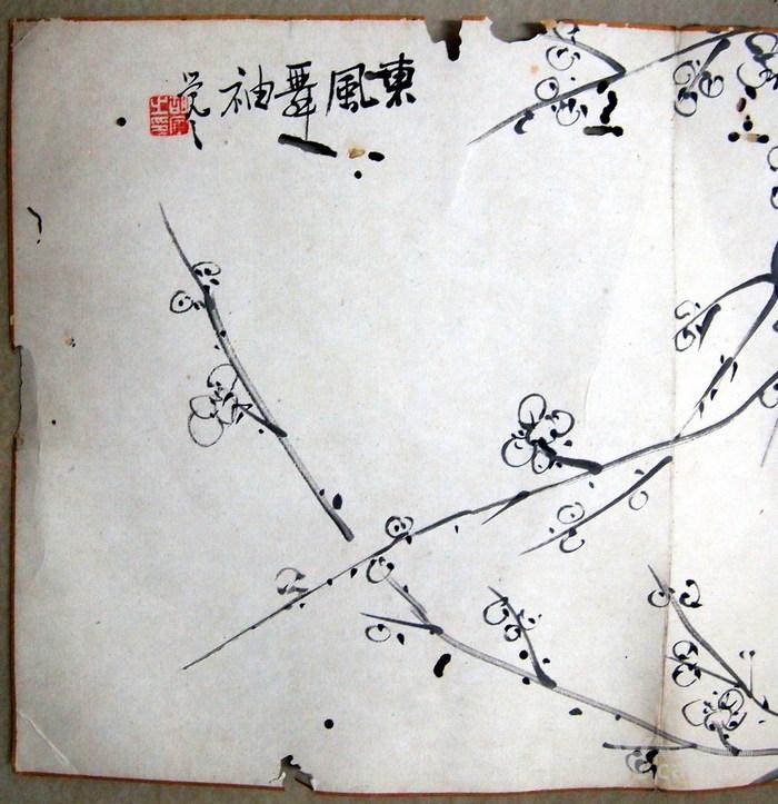 清代 胡寅 觉之 梅花图5