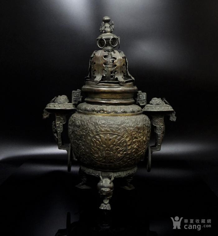 清 白铜铜熏炉图1