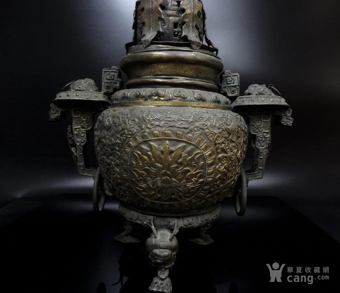 清 白铜铜熏炉图2