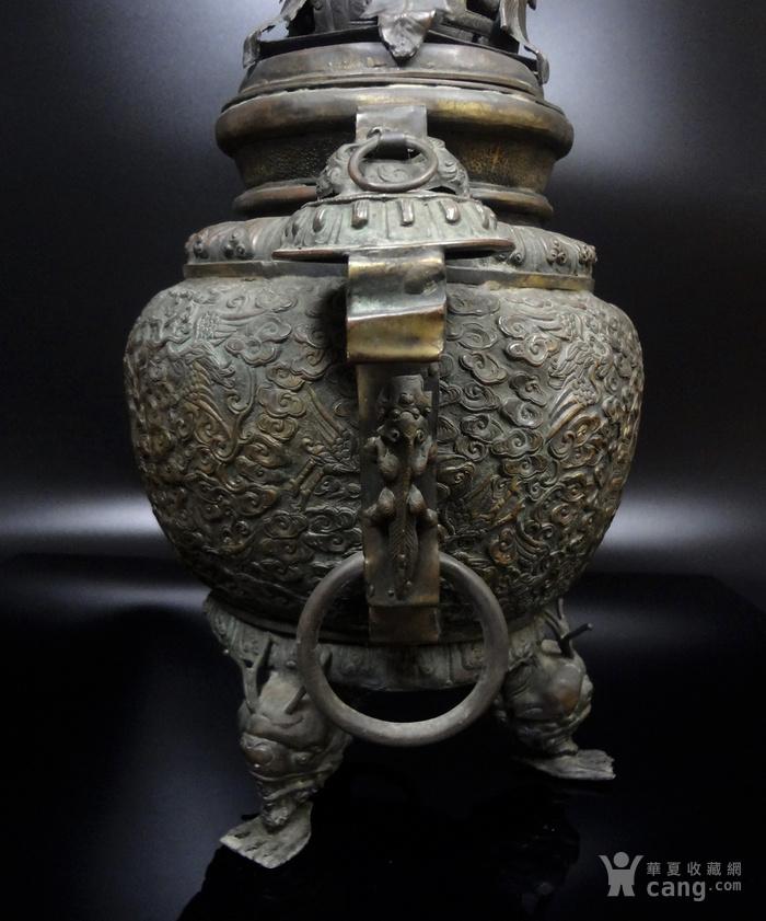 清 白铜铜熏炉图6