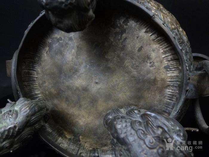 清 白铜铜熏炉图10