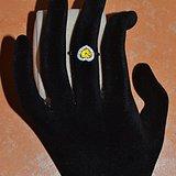 黄色蓝宝石戒指 天然斯里兰卡黄色蓝宝石18K金女款钻戒