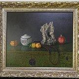 当代青年画家古典静物写实油画