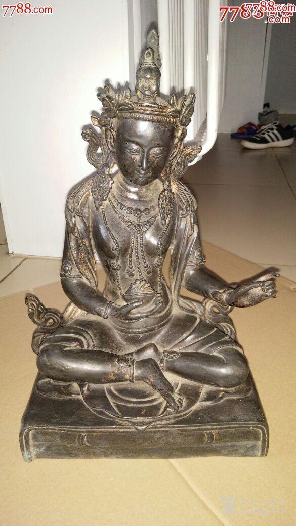 妙善观音菩萨,纯铜的,寺庙观音菩萨图3
