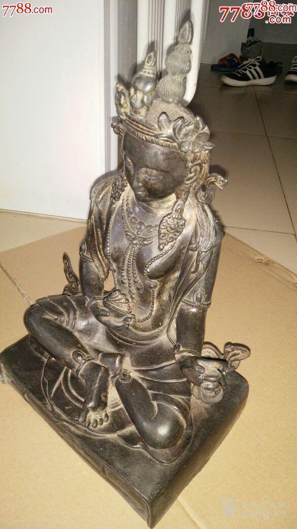 妙善观音菩萨,纯铜的,寺庙观音菩萨图1