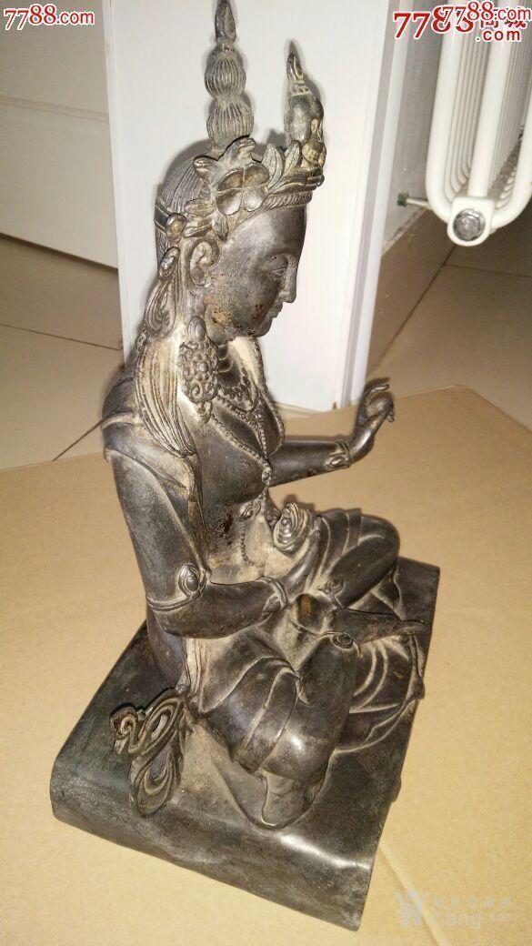 妙善观音菩萨,纯铜的,寺庙观音菩萨图4