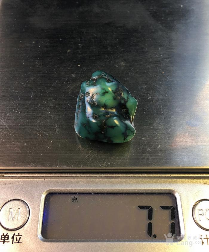 绿松石 老绿松石随型全玉化籽料图9