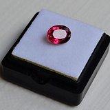 紫红色碧玺 尼日利亚纯天然紫红色碧玺2.02克拉