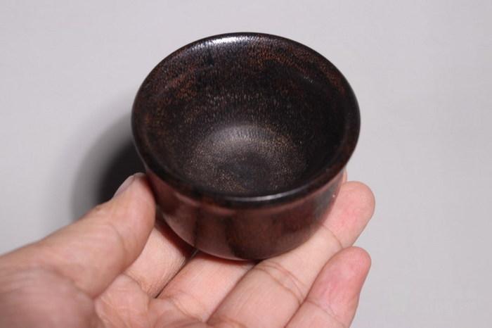 明代   稀有材质马蹄酒杯图7