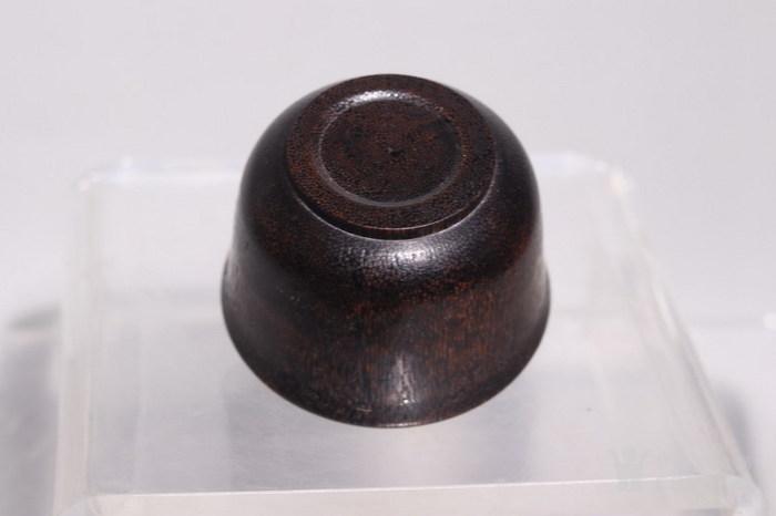 明代   稀有材质马蹄酒杯图11