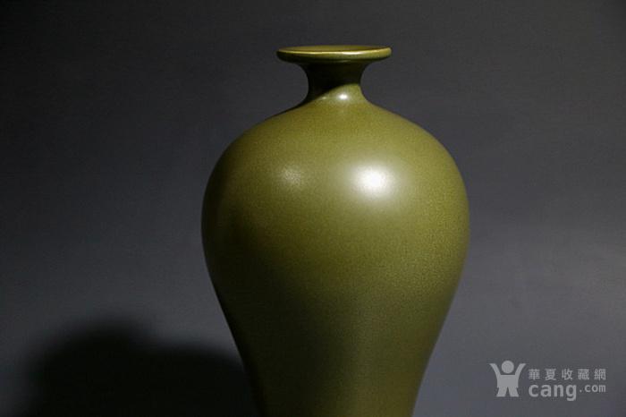 清. 茶叶末釉梅瓶图2