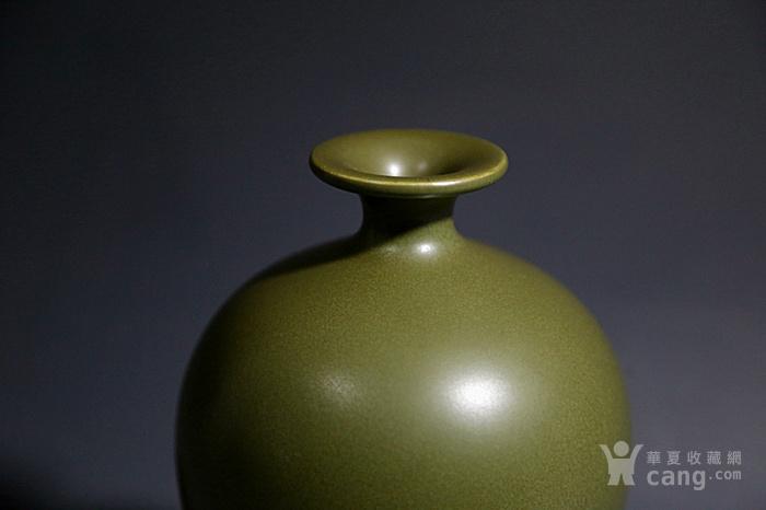 清. 茶叶末釉梅瓶图3