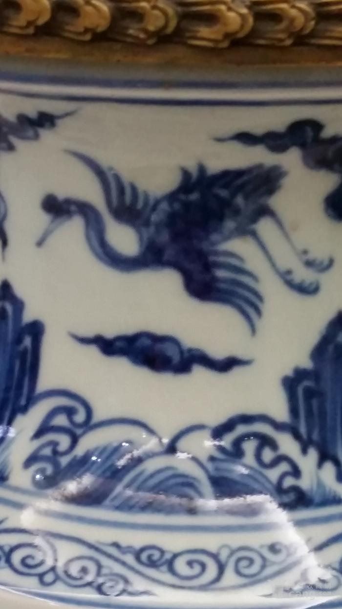 明青花瓶图2