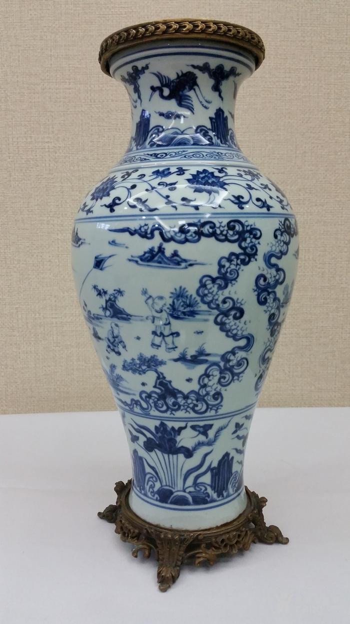 明青花瓶图8