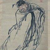 杨州八怪之一黄慎画钟馗