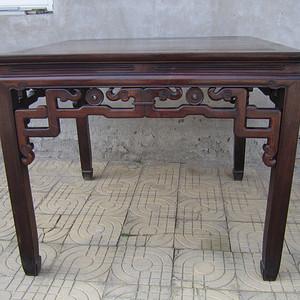 老红木八仙桌