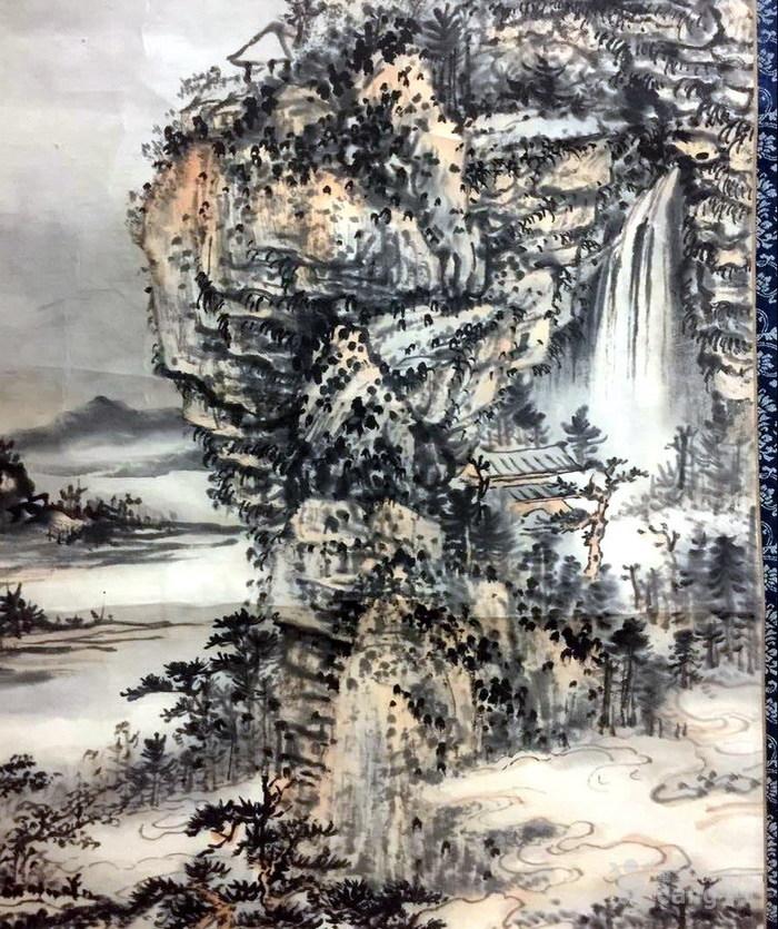 清代  石溪 山水图6