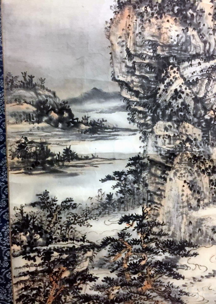 清代  石溪 山水图10