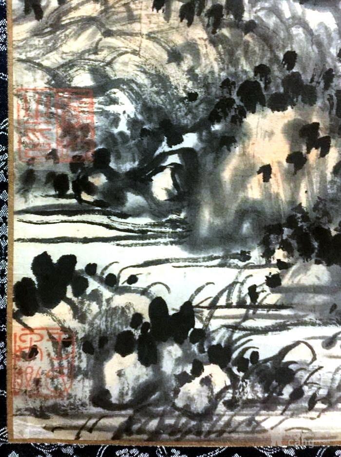 清代  石溪 山水图11