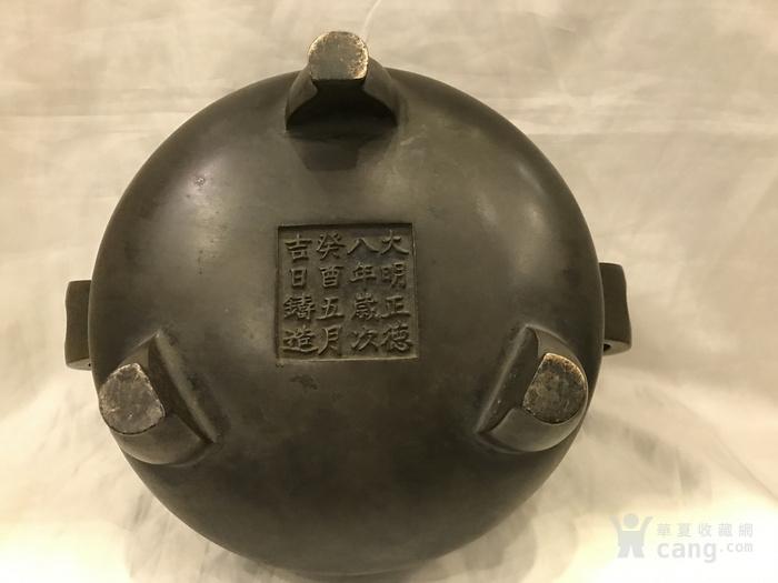 明代铜炉图8