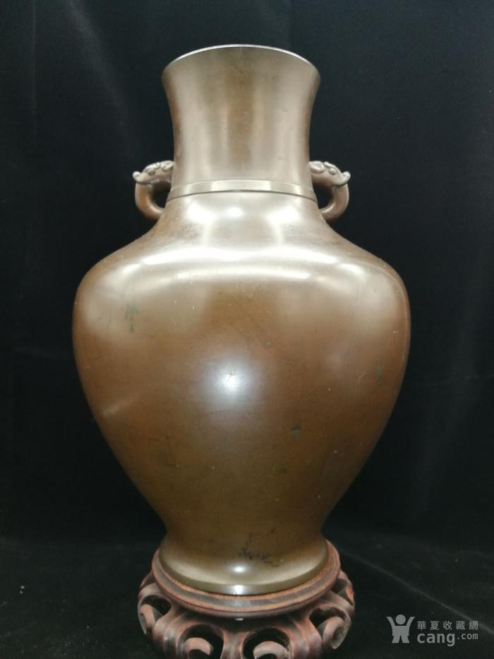 清乾隆铜瓶图1