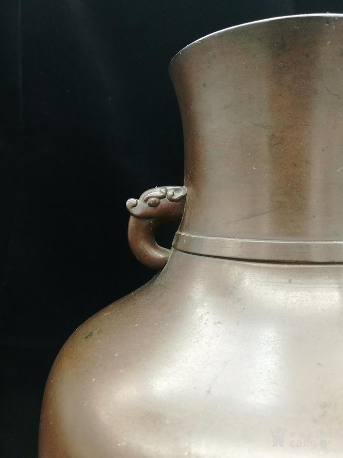 清乾隆铜瓶图4