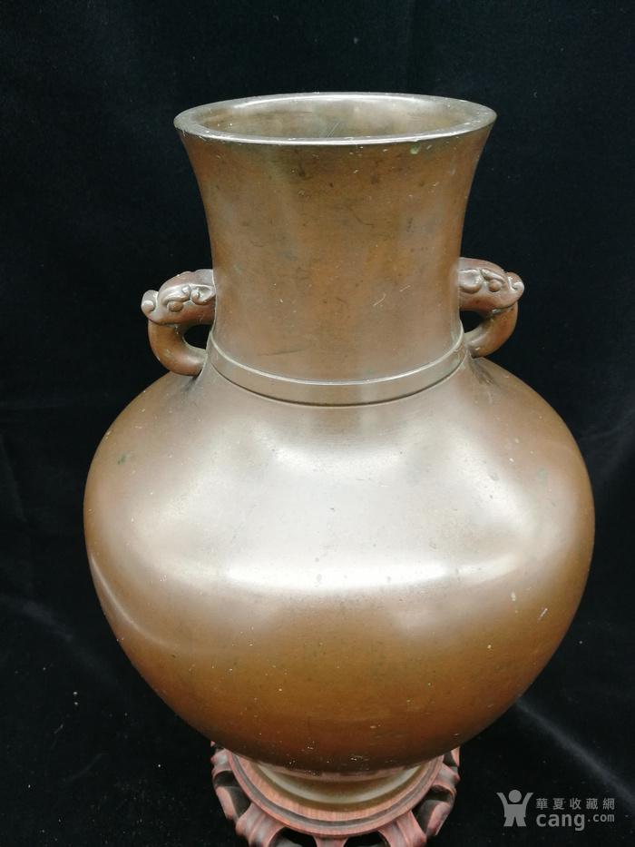 清乾隆铜瓶图5