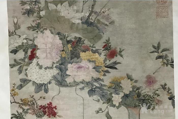 清末时期花卉静物工笔画图2