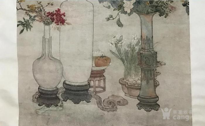 清末时期花卉静物工笔画图3