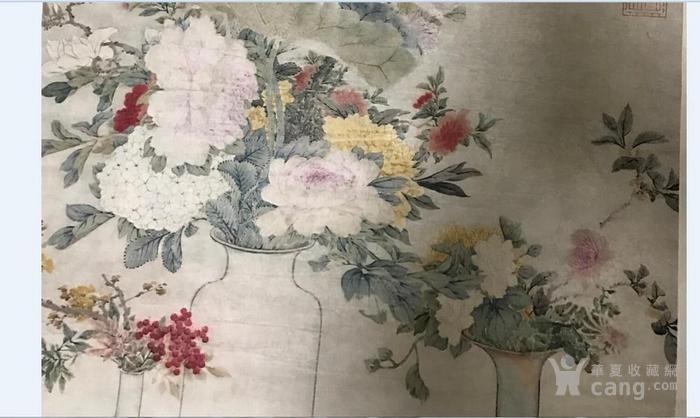 清末时期花卉静物工笔画图5